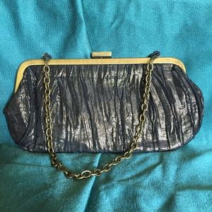 Black/Gold UNLISTED Clutch Purse